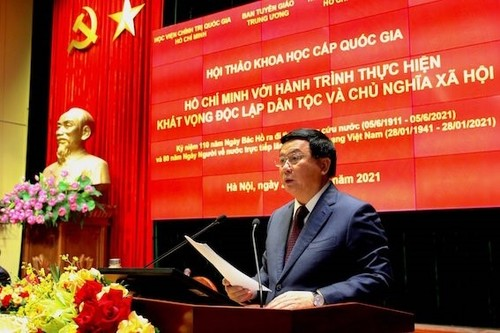 Ho Chi Minh's aspiration for national independence, socialism highlighted - ảnh 1