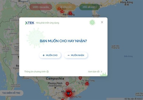 SOSmap.net connects donors and needy people  - ảnh 2