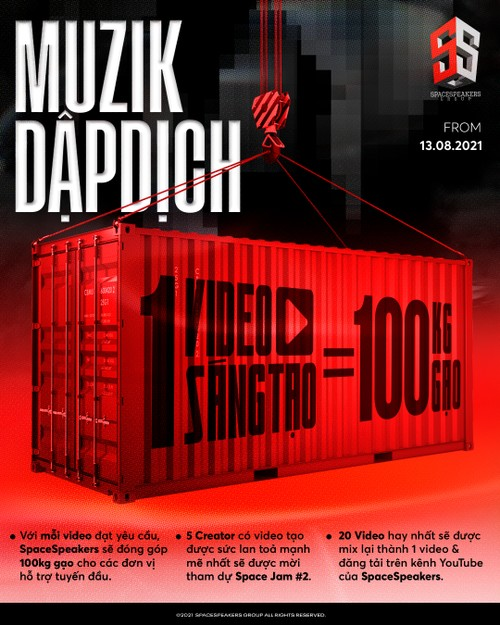MuzikDapDich – online challenge increases donations to local food bank - ảnh 1
