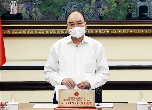 Staatspräsident Nguyen Xuan Phuc: Verbesserung der Arbeit der Gerichtshöfe in neuer Lage - ảnh 1