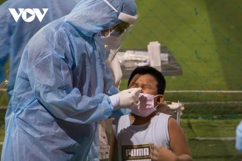 8. Juli: Vietnam bestätigt 1.314 Covid-19-Neuinfizierten - ảnh 1