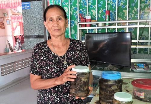Geosesarma salzen – immaterielles Kulturerbe der Einwohner in Ca Mau - ảnh 1