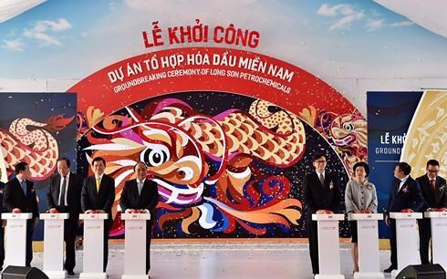 Vietnam's biggest petrochemical project commences    - ảnh 1