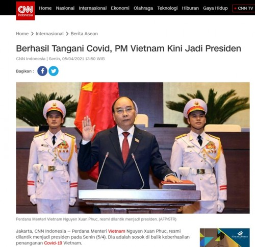 Indonesian media hail Vietnam's new leadership - ảnh 1
