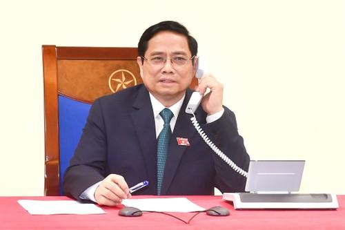 Leaders of Laos, Cambodia congratulate Vietnam's new PM - ảnh 1