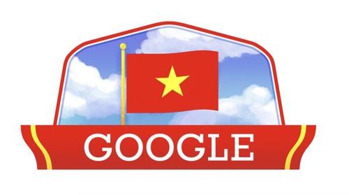 Google Doodle celebrates Vietnam's National Day  - ảnh 1