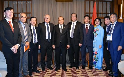 Thủ tướng tiếp doanh nghiệp Singapore tiên phong đầu tư vào Việt Nam - ảnh 2