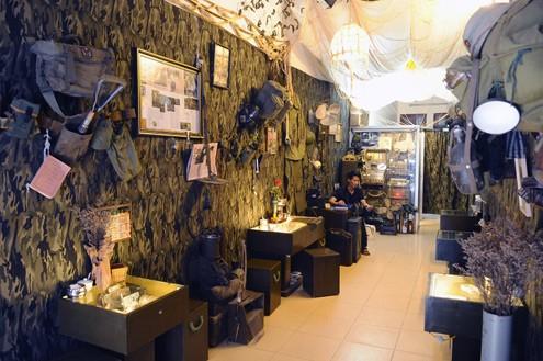Cafetería de soldados y memorias de guerra  - ảnh 1