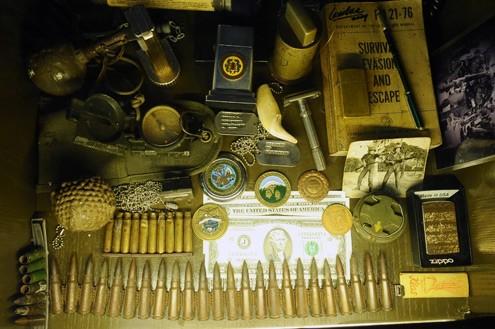 Cafetería de soldados y memorias de guerra  - ảnh 2