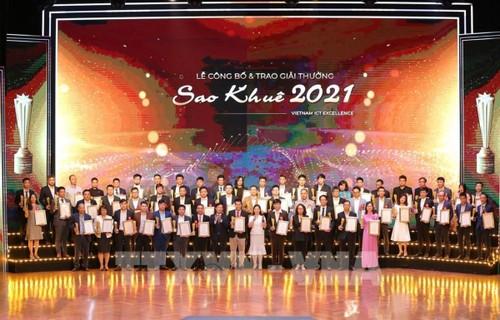 Premio Sao Khue 2021: reconocimiento y promoción de la transformación digital - ảnh 1