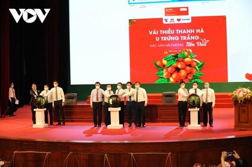 Productos agrícolas vietnamitas aprovechan las plataformas de comercio electrónico - ảnh 2