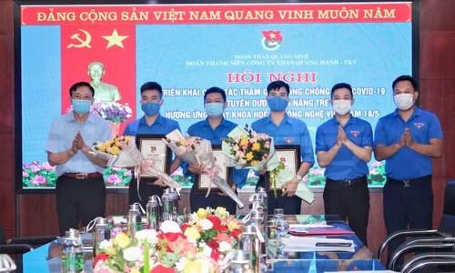 Jóvenes de Quang Ninh en la vanguardia en el desarrollo científico-tecnológico - ảnh 2