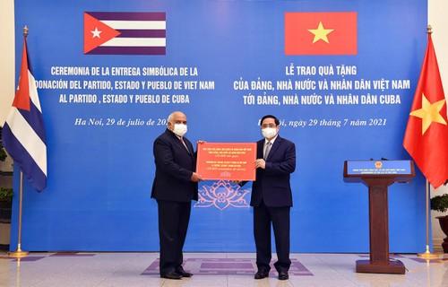 Vietnam espera fortalecer la colaboración con Cuba en la producción de vacunas anticovid-19 - ảnh 1