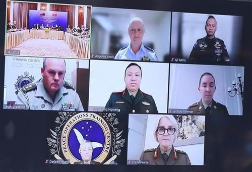Vietnam y Australia intercambian experiencias sobre Género, la Paz y la Seguridad - ảnh 1