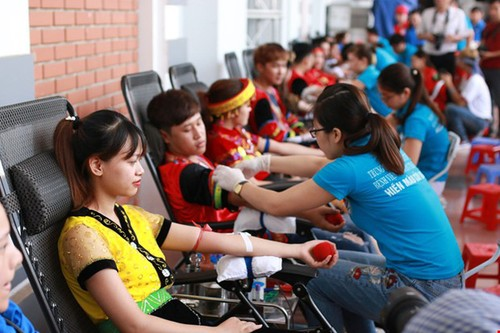 Journée nationale de don du sang - ảnh 1