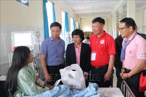 Lâm Dông: coup d'envoi de l'Itinéraire rouge 2019  - ảnh 1