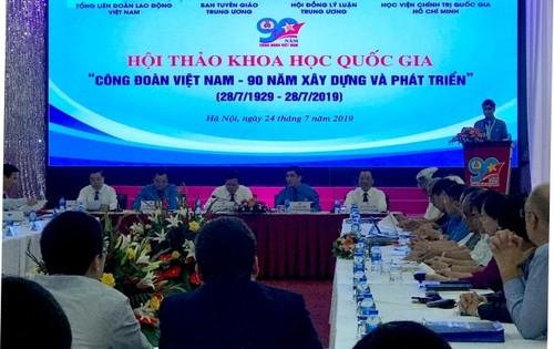 La CGT vietnamienne-90 ans d'histoire - ảnh 1
