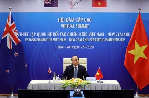 Le Vietnam et la Nouvelle-Zélande deviennent partenaires stratégiques - ảnh 1