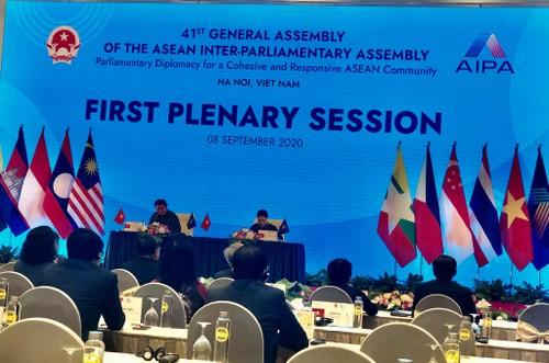 Première session plénière de l'AIPA-41 : Pour une ASEAN puissante, pacifique et stable - ảnh 1