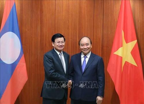 Thongloun Sisoulith au Vietnam - ảnh 1