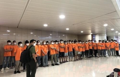 Hô Chi Minh-ville: expulsion de 52 immigrés clandestins - ảnh 1