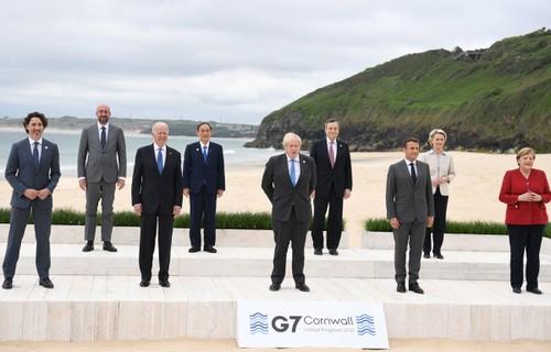 Le G7 d'accord sur un vaste plan d'infrastructures - ảnh 1