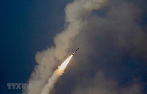 Pyongyang a tiré deux projectiles en mer du Japon - ảnh 1