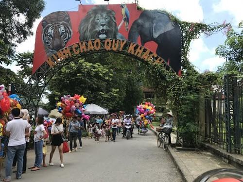 Комплекс развлечений и  зоопарк «Тхуле» в Ханое – познакомьтесь с этим интересным местом  - ảnh 1