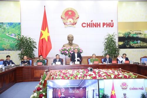 Phó Thủ tướng Trương Hòa Bình chủ trì Hội nghị trực tuyến toàn quốc về công tác chống buôn lậu - ảnh 1