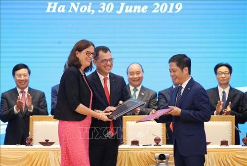 Hiệp định Thương mại tự do Việt Nam - EU: Góp phần thúc đẩy hợp tác ASEAN-EU - ảnh 1
