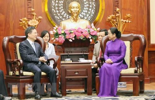 Thúc đẩy hợp tác giữa Thành phố Hồ Chí Minh và thành phố Hàng Châu, Trung Quốc - ảnh 1