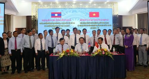 Hợp tác phát triển giữa ba tỉnh: Quảng Trị (Việt Nam) và Savannakhet, Salavan (Lào) - ảnh 1