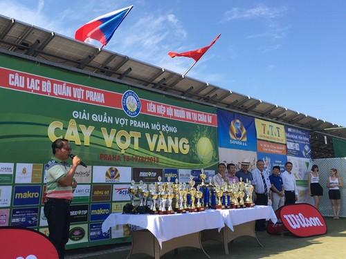 Giải Cây vợt vàng Praha 2019 kết nối cộng đồng người Việt tại châu Âu - ảnh 1