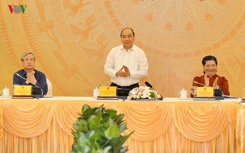 Tiểu Ban Kinh tế -Xã hội xin ý kiến các nguyên lãnh đạo Đảng, Nhà nước - ảnh 1