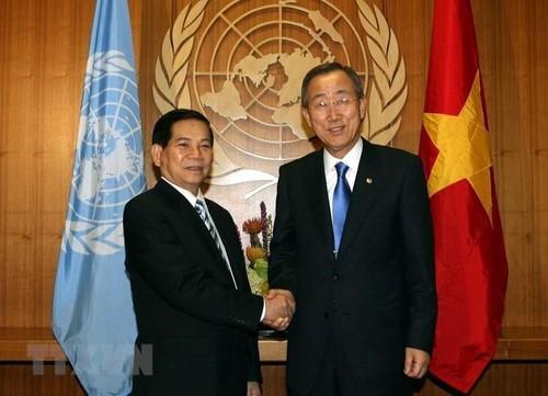 42 năm Việt Nam tham gia Liên Hợp Quốc: căng buồm ra biển lớn - ảnh 2