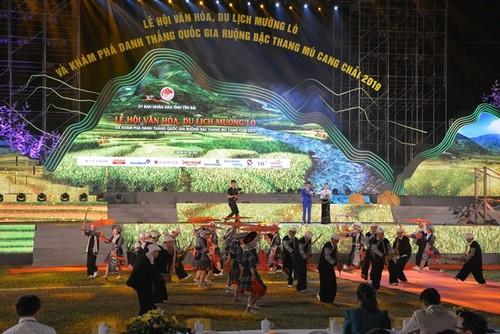 Lễ khai mạc Lễ hội Văn hóa, du lịch Mường Lò và khám phá danh thắng Quốc gia ruộng bậc thang Mù Cang Chải năm 2019 - ảnh 1