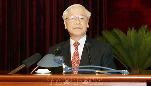 Bế mạc Hội nghị lần thứ 11 Ban Chấp hành Trung ương Đảng khoá XII - ảnh 2