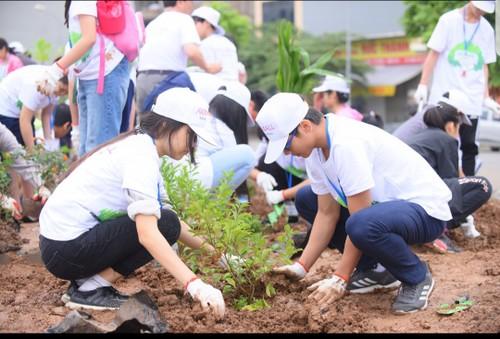 Tập đoàn AEON Nhật Bản góp phần xây dựng Thủ đô Hà Nội xanh sạch đẹp - ảnh 3