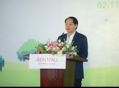 Tập đoàn AEON Nhật Bản góp phần xây dựng Thủ đô Hà Nội xanh sạch đẹp - ảnh 1
