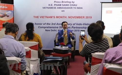 """""""Tháng Việt Nam"""" tại Ấn Độ làm sâu sắc hơn quan hệ song phương - ảnh 1"""