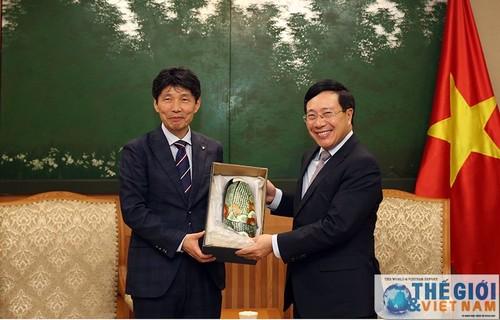 Tăng cường quan hệ Việt Nam - Nhật Bản - ảnh 1