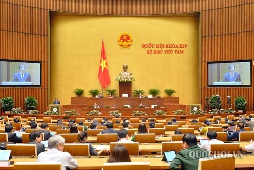 Quốc hội bước sang tuần làm việc thứ 5 - ảnh 1