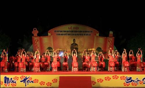 Lễ hội Đền thờ Trạng Trình Nguyễn Bỉnh Khiêm đón nhận Bằng di sản văn hóa phi vật thể quốc gia - ảnh 1