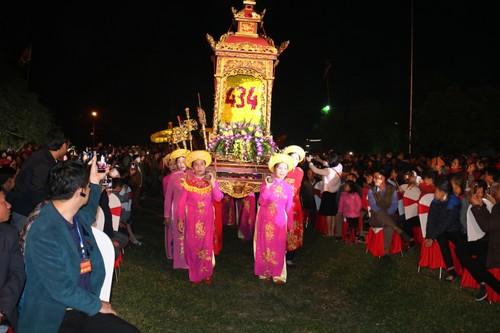 Lễ hội Đền thờ Trạng Trình Nguyễn Bỉnh Khiêm đón nhận Bằng di sản văn hóa phi vật thể quốc gia - ảnh 2