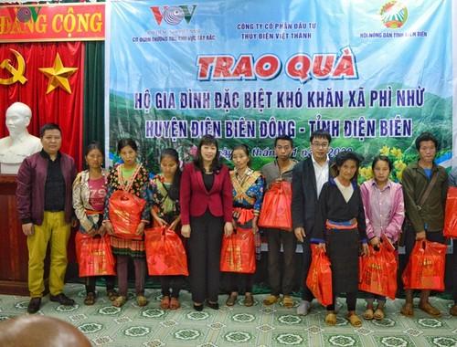 VOV Tây Bắc cùng các nhà hảo tâm trao quà Tết cho người nghèo tỉnh Điện Biên - ảnh 1