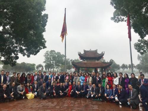 Đoàn kiều bào tiêu biểu tham dự Xuân quê hương 2020 - ảnh 13