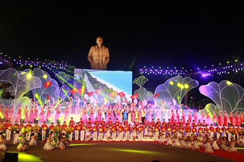 Lễ hội Làng Sen năm 2020 được tổ chức quy mô cấp quốc gia - ảnh 1
