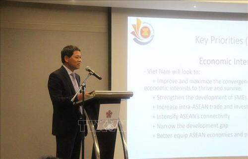Năm Chủ tịch ASEAN: Việt Nam chủ động thúc đẩy đoàn kết ASEAN - ảnh 1