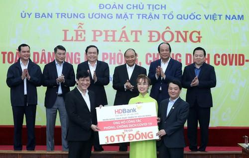 Các tập đoàn lớn Việt Nam chung tay đẩy lùi Covid-19 - ảnh 1