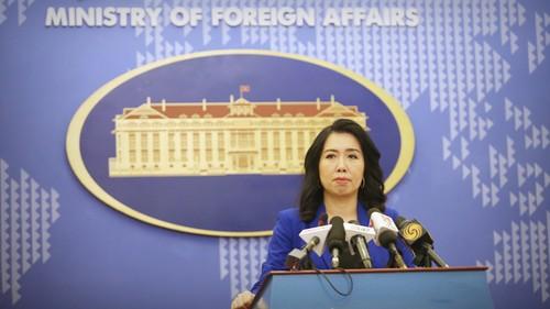 Conférence de presse du ministère vietnamien des Affaires étrangères du jeudi 25 juillet - ảnh 1